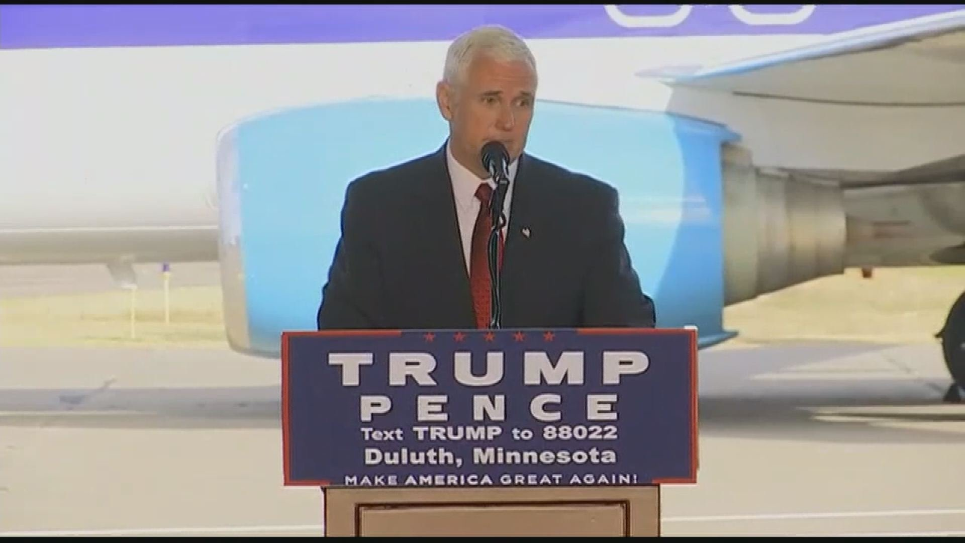 Gov. Mike Pence: We will accept a 'clear' election outcome