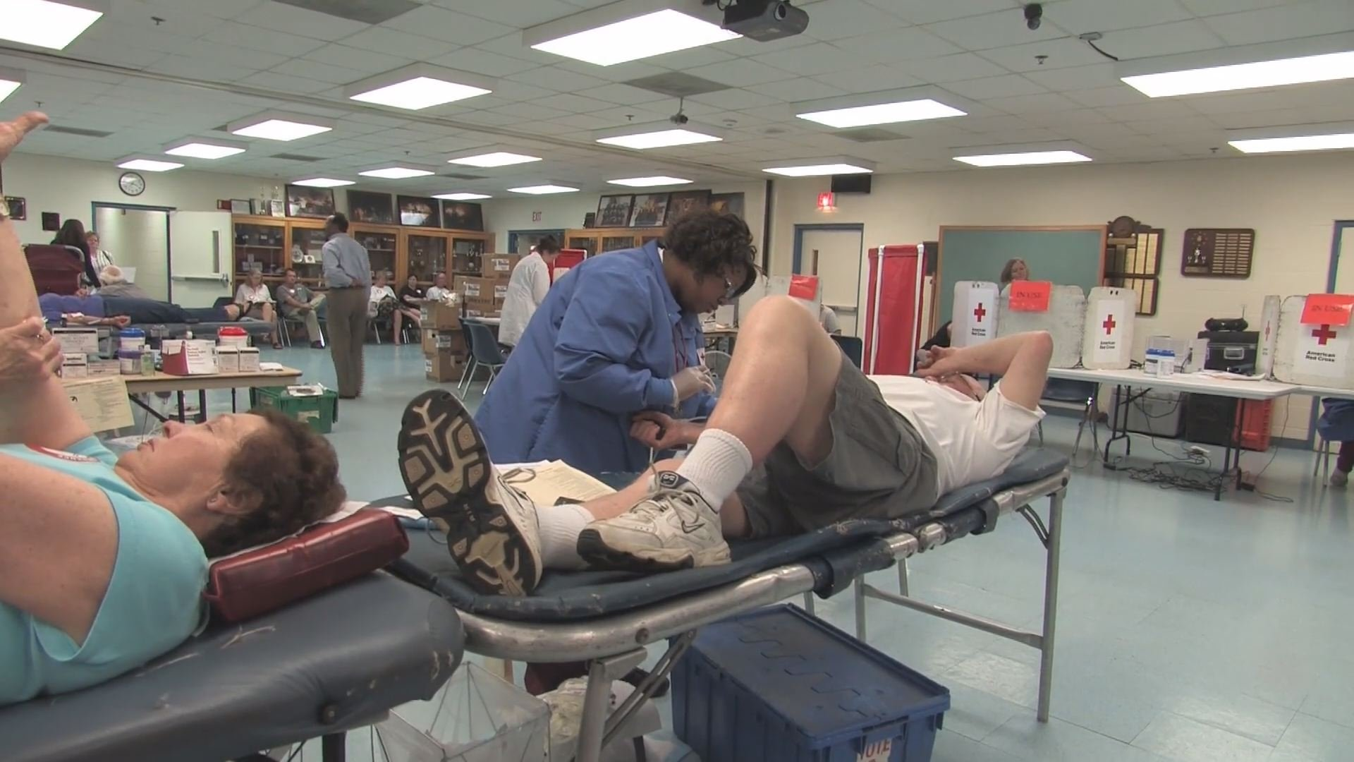 Red Cross in need of donations during 'blood emergency'