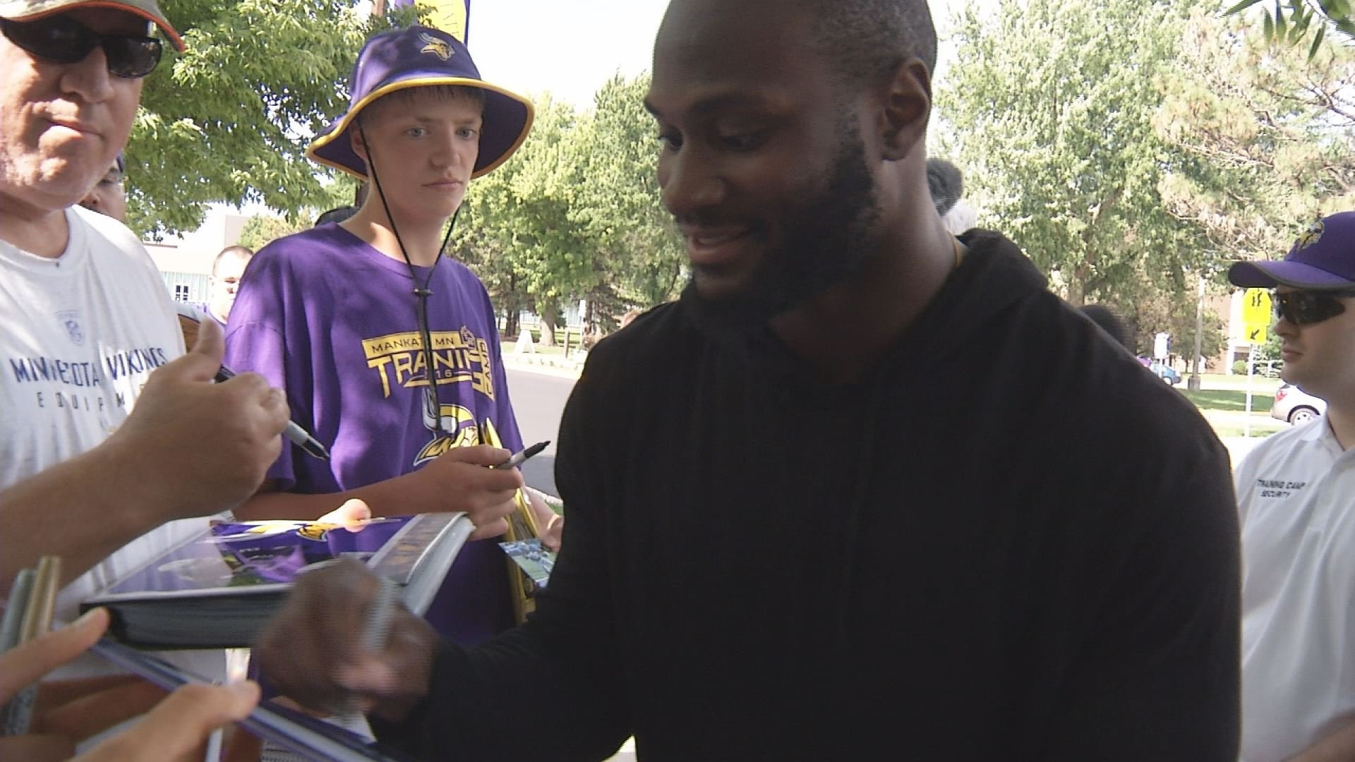 Vikings rookies report to camp in Mankato today
