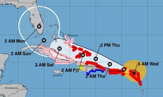 Buccaneers-Dolphins game moved to November 19 due to Hurricane Irma