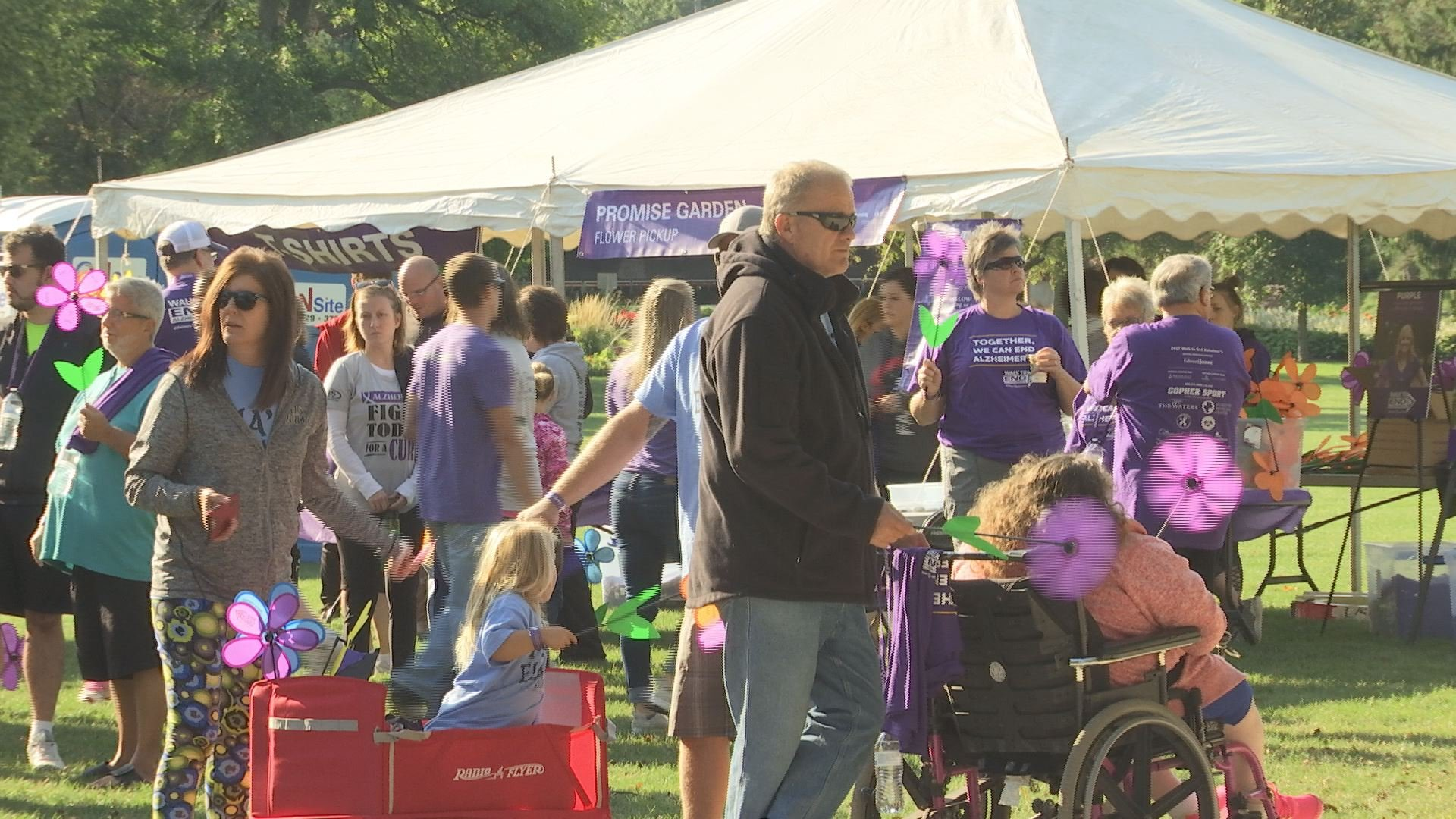 Walk to End Alzheimer's held at Waterfront Park