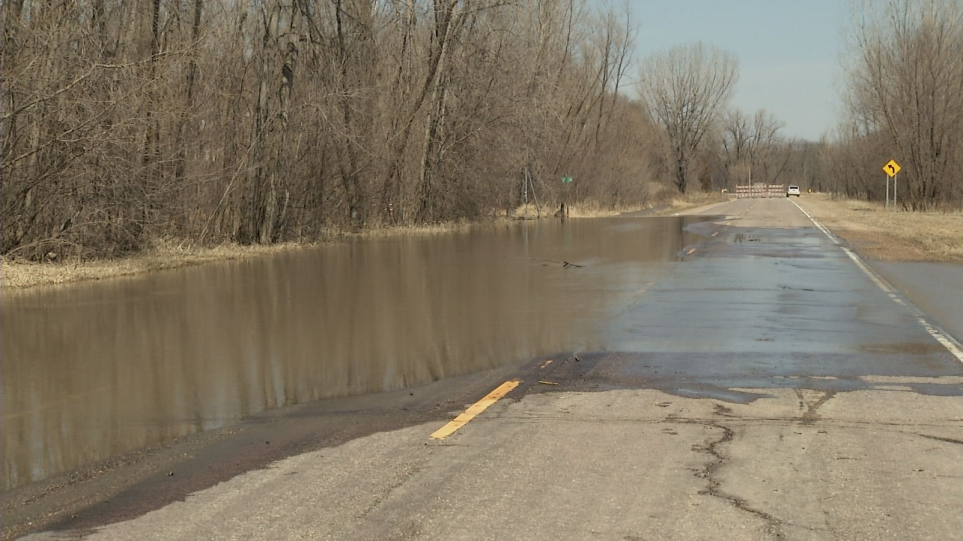 Highway 93 Near Henderson Reopens To Traffic After Flooding