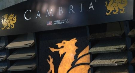 Cambria expands business internationally.