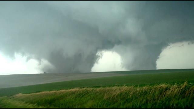 devastating twin tornadoes ravage pilger  nebraska