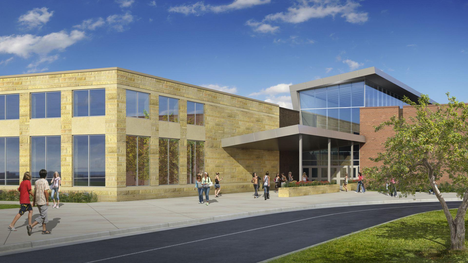 Sandy High School New Building