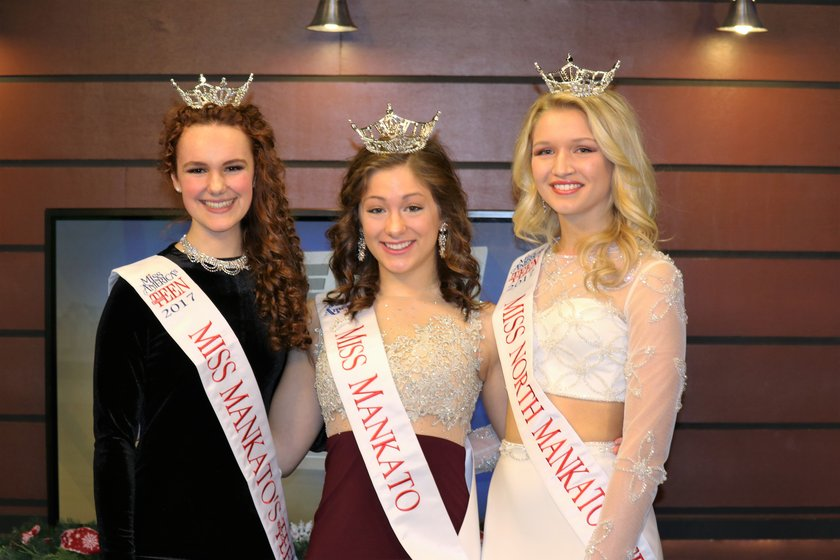 Three of Mankato's talented teens are competing this week for the titles of Miss  Minnesota and Miss Minnesota's Outstanding Teen. If crowned they would move  ...